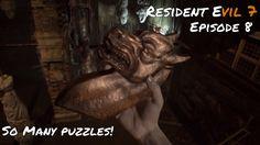 Resident Evil 7 | BOSS TIME! | Episode 8 Resident Evil, Boss, Lion Sculpture, Videos, Youtube, Youtubers, Video Clip