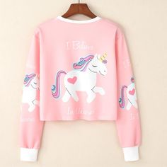 Features: Material: Space cotton Size: Every Unicorn Lover want to be unicorn. That is our dream. Wear this sweatshirt, shining others! HOW LONG DOES DELIVERY T