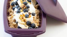 Steamy Berry Good Oatmeal Quick Dinner Recipes, Brunch Recipes, Fall Recipes, Great Recipes, Breakfast Recipes, Favorite Recipes, Breakfast Ideas, Breakfast Club, Epicure Recipes