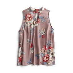 Spring Stylist Picks: Floral sleeveless blouse