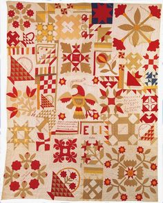 Quilting Daily has the best resources for quilters including quilt patterns, how-to quilt videos, quilting magazines, and more. Old Quilts, Antique Quilts, Vintage Quilts, Scrappy Quilts, Vintage Sewing, Quilting Projects, Quilting Designs, Primitive Quilts, Patriotic Quilts