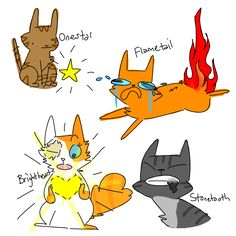 warrior cats literal names by ressii