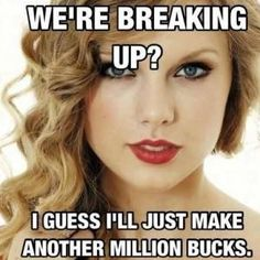 Love Taylor Swift can't wait to see what her Calvin break album will be like! Lol