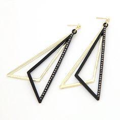 Drop Triangle Earring