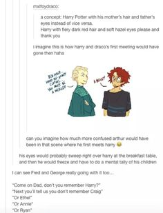 Physical Traits of Harry Potter