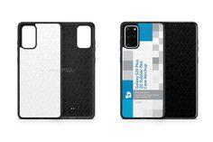 Galaxy S20 Plus 2020 2d Rubber Flex Case Design Mockup (475954) | Mockups | Design Bundles