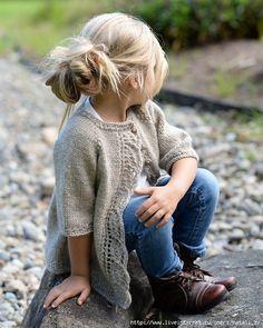 Детские модели – жакет Cove Cardigan by Heidi May