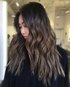 """1,531 Likes, 36 Comments - Orange County Balayage Expert (@colorbymichael) on Instagram: """"Brunette ✨ Balayage #behindthechair #btconeshot_hairpaint17"""""""