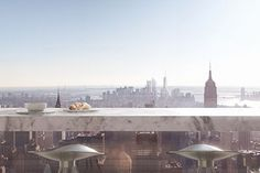 This $80 Million Apartment Has The Most INSANE Views Of NYC #refinery29  http://www.refinery29.com/2014/10/76275/432-park-avenue-nyc-apartment#slide-3  Enjoy a croissant while soaking in the sun.