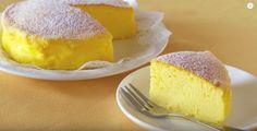 材料3つ!簡単にできるふわふわ食感のスフレチーズケーキが海外で大ブーム♡