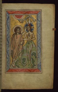 Walters MS W26 This Psalter was made for, and most likely by, a group of Benedictine nuns at the Abbey of Saints Ulrich and Afra in Augsburg, Germany. Although the Psalter itself, along with its calendar, date to the late twelfth or early thirteenth century, a number of texts and prayers were added in the mid thirteenth century. Most striking about the manuscript are its illuminations, which include a prefatory cycle, full-page miniatures and historiated initials. While all are Romanesqu