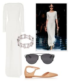 Pointed-Toe Skimmers - As a chic alternative to heels, wear your new pointy flats with an ankle-grazing dress and futuristic accessories like at Balenciaga. Roland Mouret Dress, $4,610 Buy it now Balenciaga Bracelet, $715 Buy it now Dior Sunglasses, $520 Buy it now Gianvito Rossi Shoes, $720 Buy it now