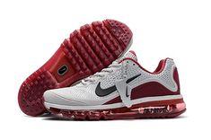 hot sales 25a23 e91ce Men s Nike Air Max 2017 KPU Running Shoes Cool Grey Burgundy 898013-090 UK
