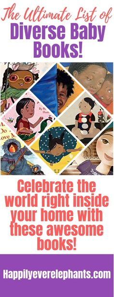 The Ultimate List of Diverse Baby Books. Celebrate the world right inside your home with this awesome list! Baby Book To Read, Baby Books, Toddler Books, Best Children Books, Childrens Books, Muslim Book, Teaching Emotions, Counting Books, Creative Activities For Kids
