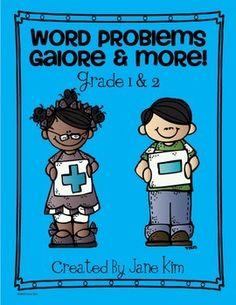 Word Problems Galore & More: Grade 1 & 2
