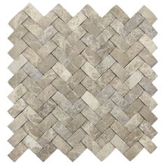 Hand Made 3D Stone Tile  3D Brown Marble  Basket Weave by CNKTile