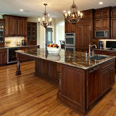 Dark Kitchen Cabinets Design, Pictures, Remodel, Decor and Ideas - page 8