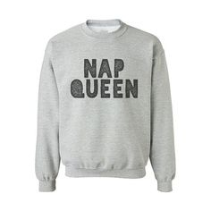 funny NAP QUEEN Crewneck Sweatshirt for Adults and Kids