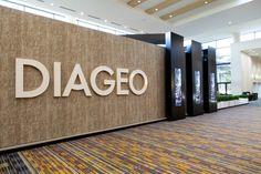 Diageo stand, Duty-Free Show of the Americas 2014, Orlando, FL.