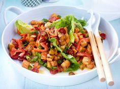 Unser beliebtes Rezept für Süßkartoffelsalat mit Chorizo und mehr als 55.000 weitere kostenlose Rezepte auf LECKER.de.