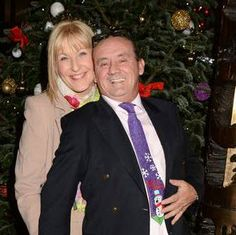 "Brendan O'Carroll and wife, Jennifer Gibney, better known as Agnes Brown and Cathy Brown from ""Mrs. Brown's Boys"""