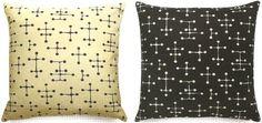 Eames' Dot Pattern Fabric byMaharam