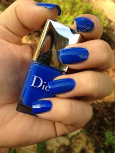 Dior Electric Blue-Sony Vs iPhone