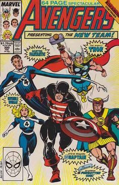 The Avengers #300 Cover Art And Pencils By John Buscema. Inferno squared