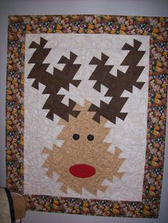 "Twister Rudolph, more ideas on Amy Thibodeau's ""Quilt-Twister ideas"" board"