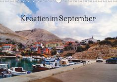 Kroatien im September - CALVENDO