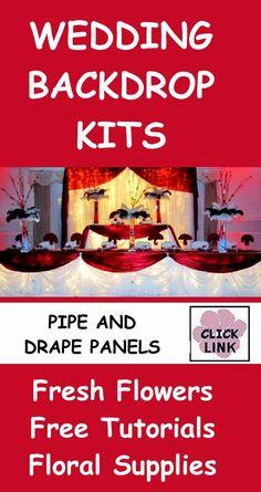 Wedding Flowers And Reception Ideas Wedding Backdrop Panels DIY Decorating