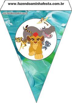 The Lion Guard: Free Party Printables. - Oh My Fiesta! in english Safari Theme Party, Safari Birthday Party, Jungle Party, Jungle Theme, Party Themes, Lion King Theme, Lion King Party, Lion King Birthday, Party Printables