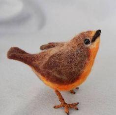 December ~ Advent ~ Week Three: The Light of Bird & Beast ~ Needle Felted Bird