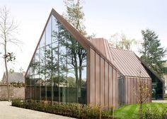 Медный дом в Бельгии