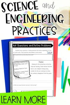 Find out how to effectively teach the 8 NGSS science and engineering practices along with materials and strategies to help students dive deeper into science concepts and topics. Perfect for use in the 4, 5, 6, 7 and 8th grade classrooms. Come check it out on my blog. 6th Grade Science, Elementary Science, Middle School Science, Science Classroom, Teaching Science, Teaching Ideas, Earth Science Activities, Cool Science Experiments, Science Lessons