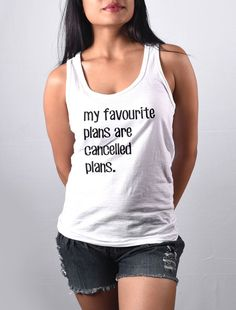 Buy Hardcore Introvert - Tank Top For WoWomen - Clothing for Women from Bombay Trooper starting at Rs. Bombay Trooper, Running Late, Printed Tank Tops, Basic Tank Top, Vogue, How To Plan, Guys, Stuff To Buy, Clothes