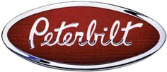 """Peterbilt logo - I need to do some research, but I'll get back you on why I LOVE this logo....K...OK, back from the library....I think it's because it reminds me of the 'Hoover' logo, yet at the same time uses a 'Signature' motif...you know, """"My name is Mike Peterbilt and I stand behind each truck we sell, 'cause my signatures on every one...""""...Hey that's not bad!...TOTALLY on Brand...:) K"""