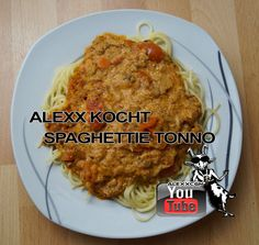 Spaghettie Tonno - Das genaue Rezept findest Du in meinem Video auf YouTube bzw. dort in der Videobeschreibung.