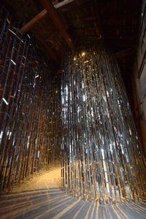 "Harumi Yukutake. Equipoise 2010. mirror installation. ""Setouchi International Art Festival"" Kagawa, Light Installation, Land Art, Art Festival, Reflection, Contemporary Art, Inspire, Japan, Mirror"