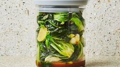 Spinach and Bok Choy Recipe | Bon Appetit
