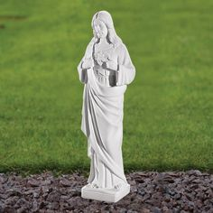 Jesus Christ 37cm Religious Statue Marble Garden Ornament. Buy Now At  Http://