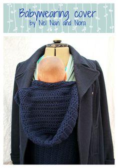 Crochet Babywearing Cover Tutorial