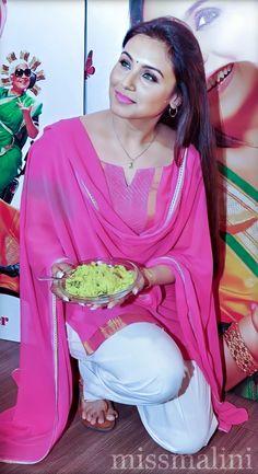 Indian Long Hair Braid, Braids For Long Hair, Beautiful Girl Indian, Beautiful Indian Actress, Bollywood Fashion, Bollywood Actress, Rani Mukerji, Celebs, Celebrities