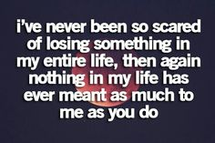 So scared!!