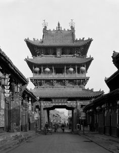 (looks like the entrance doors at Yuyuan Gardens in Shanghai) China / Gentl & Hyers