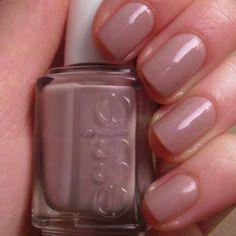 Essie Demure Vixen: my favorite everyday nail polish color Colorful Nail Designs, Cool Nail Designs, Cute Nails, Pretty Nails, Hair And Nails, My Nails, Fingernail Designs, Nail Polish Colors, Nail Polishes