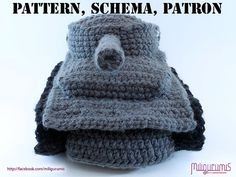 PATTERN for Tiger 1 Tank   Panzer Crocheted by miligurumis on Etsy, $6.99
