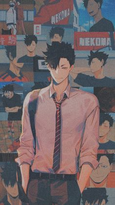 Haikyuu Kageyama, Kuroo Tetsurou, Haikyuu Manga, Haikyuu Fanart, Anime Wallpaper Phone, Haikyuu Wallpaper, Cute Anime Boy, Anime Guys, Anime Songs