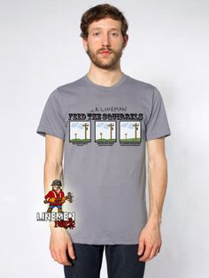 Lineman feed the squirrels- lineman shirts Lineman Shirts, Squirrels, Mens Tops, T Shirt, Fashion, Chipmunks, Supreme T Shirt, Moda, Tee Shirt