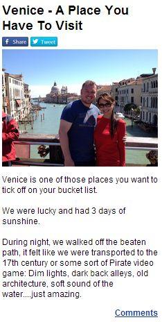 Robert Klein, Venice, Thats Not My, Venice Italy